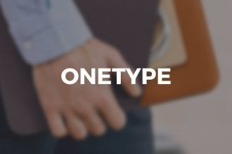OneType: Our New E-Commerce Theme