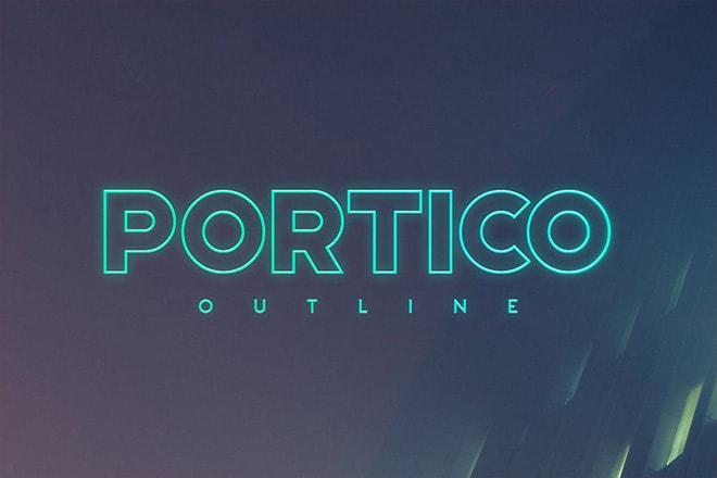 20+ Best Outline Fonts 2020