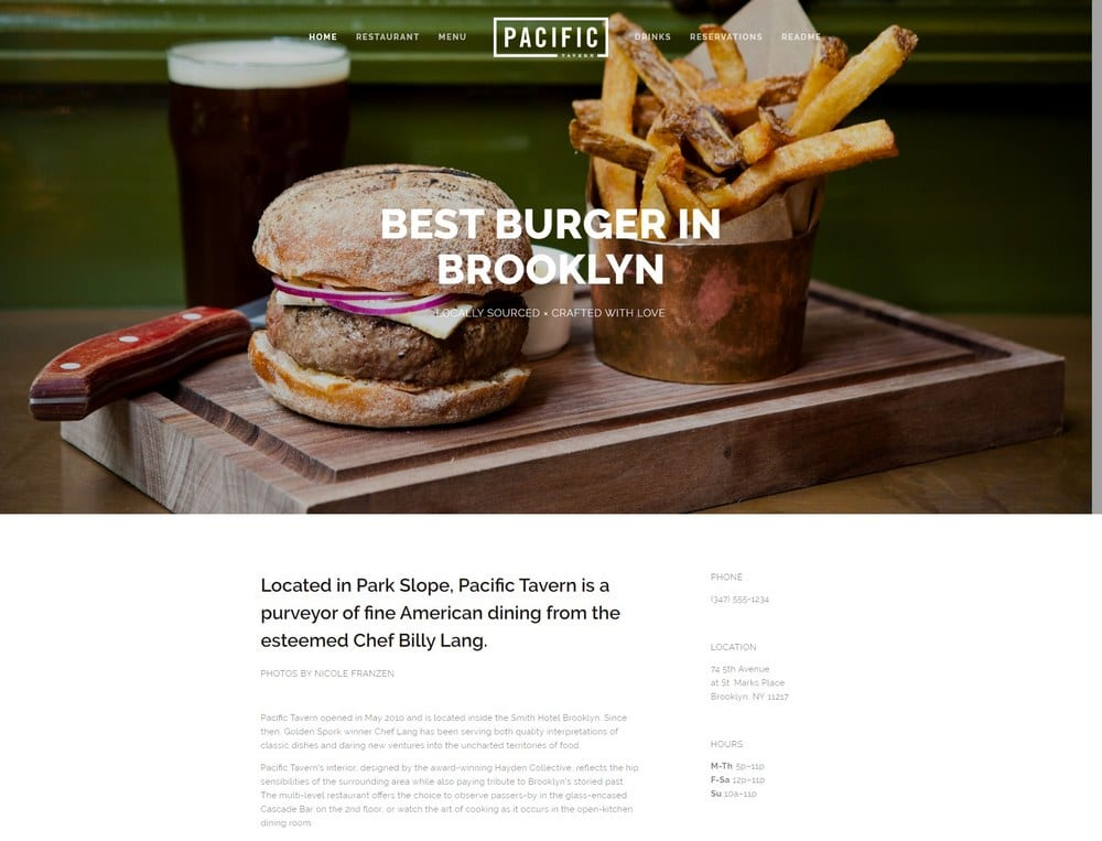 pacific-squarespace-template