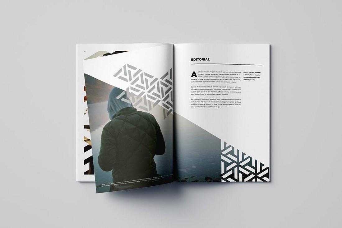 pattern brochure template