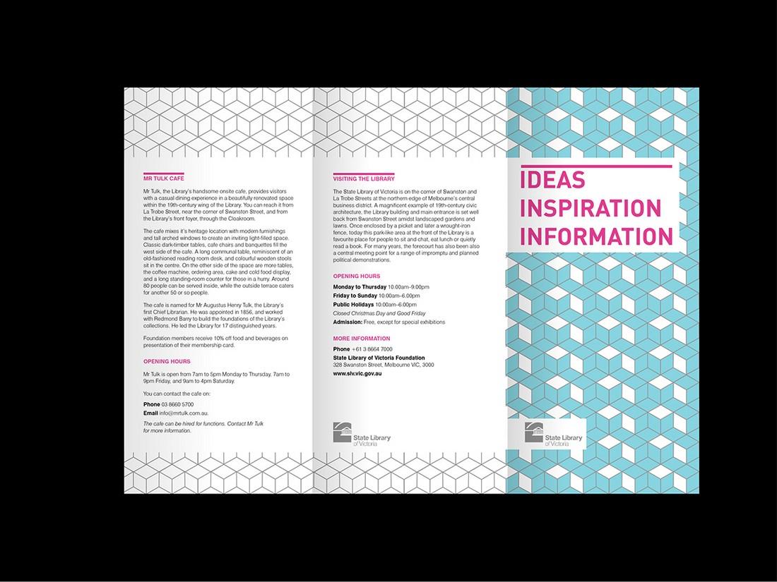 pattern brochure