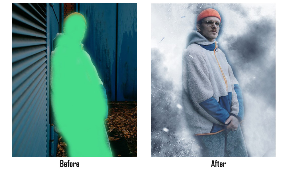 photoshop action before after