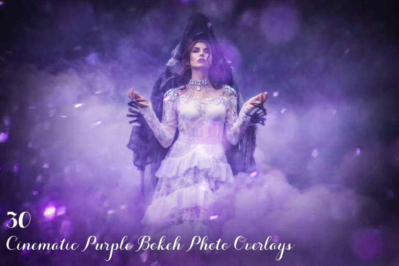 Photoshop bokeh effects