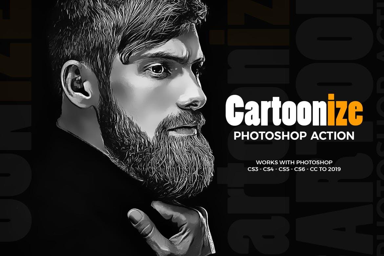 25 Best Photoshop Cartoon Actions Plugins Cartoonize A Photo Theme Junkie
