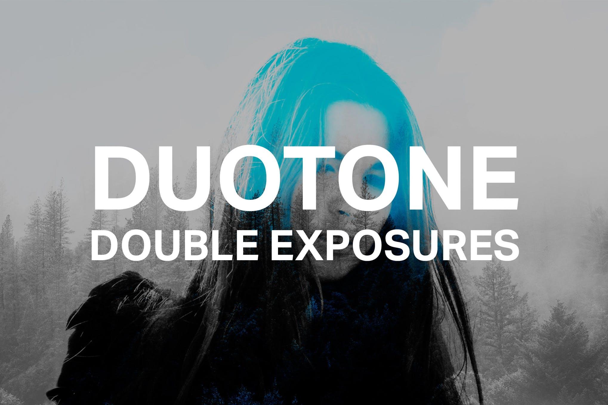 efek duotone photoshop
