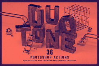 20 Best Duotone Photoshop Effects & Actions (How to Do Duotone) 2021