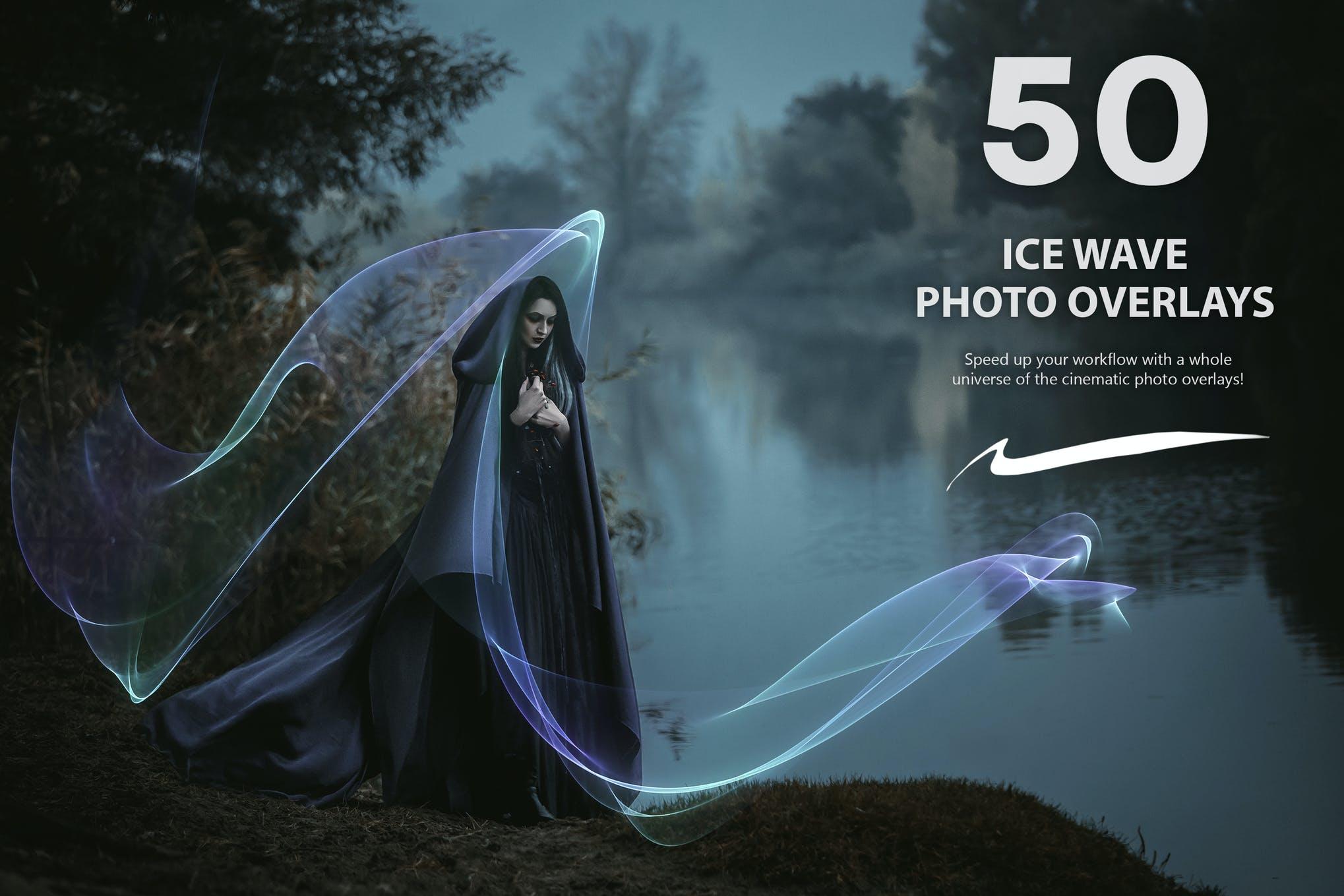 efek es photoshop