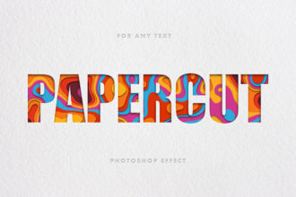 25+ Best Photoshop Paper Cutout Effects (How to Make a Cutout)