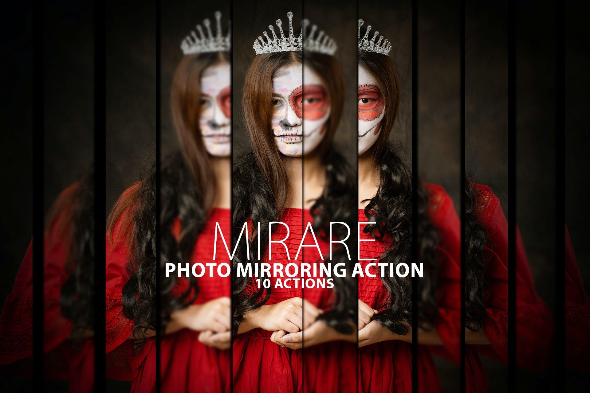 photoshop reflection effect
