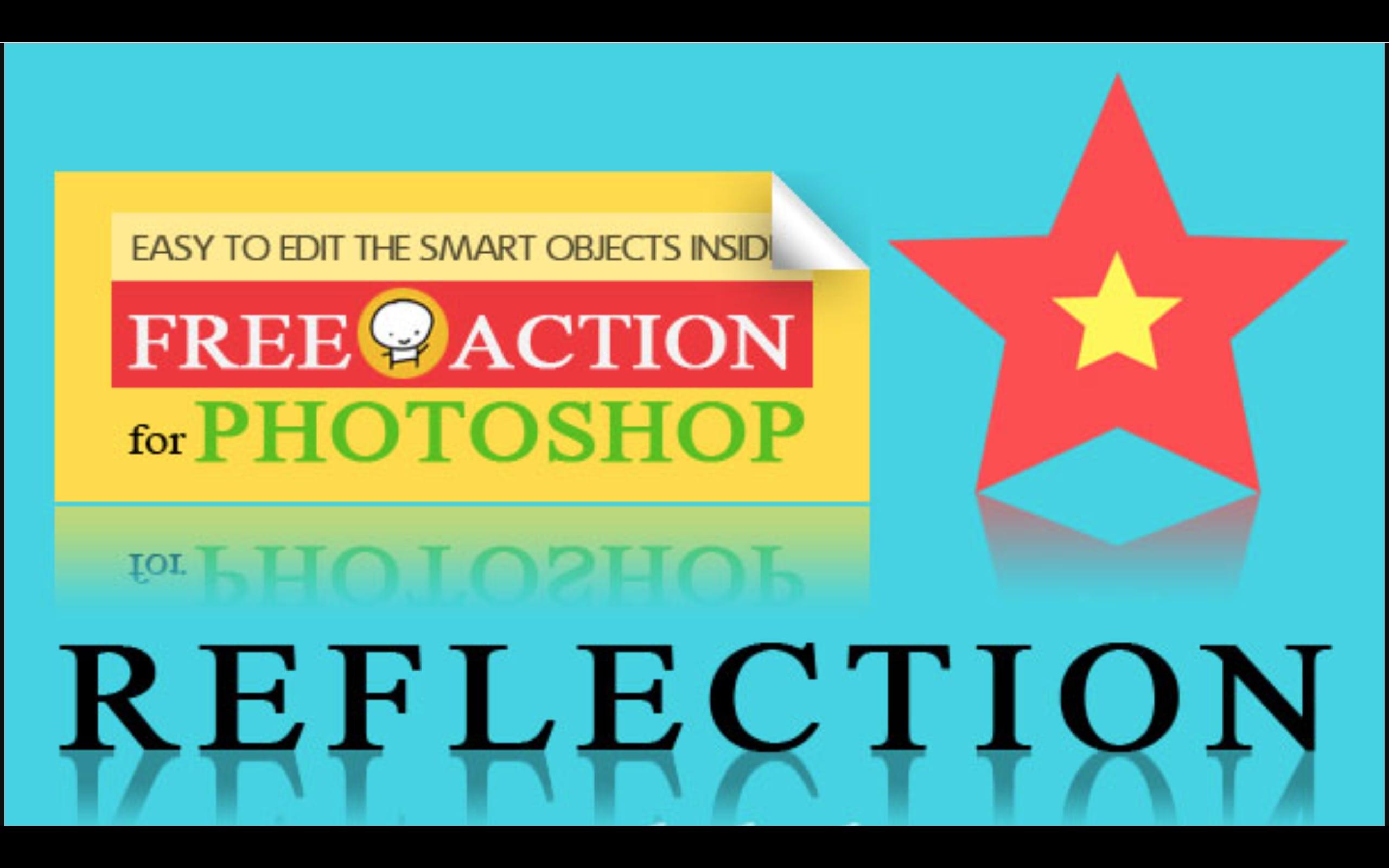 photoshop reflection effects