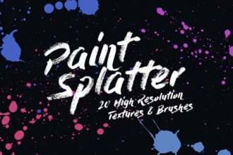 20+ Best Photoshop Splat & Splatter Brushes 2021