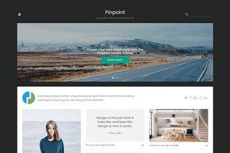 Introducing Pinpoint: A New Portfolio Theme