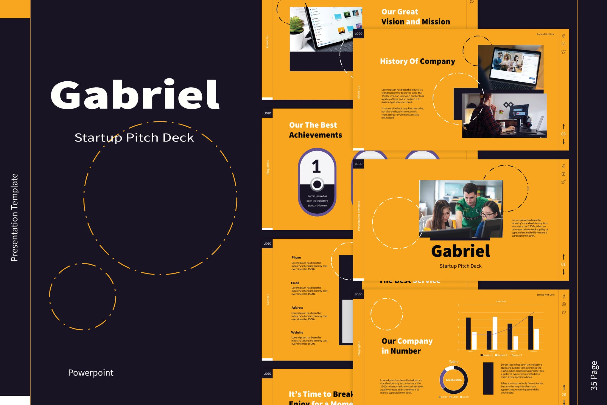 pitch deck powerpoint template