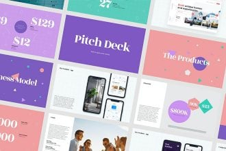 25+ Best Business Pitch Deck Templates for PowerPoint 2020