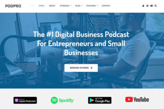 PodPro: Our New WordPress Theme for Podcasts