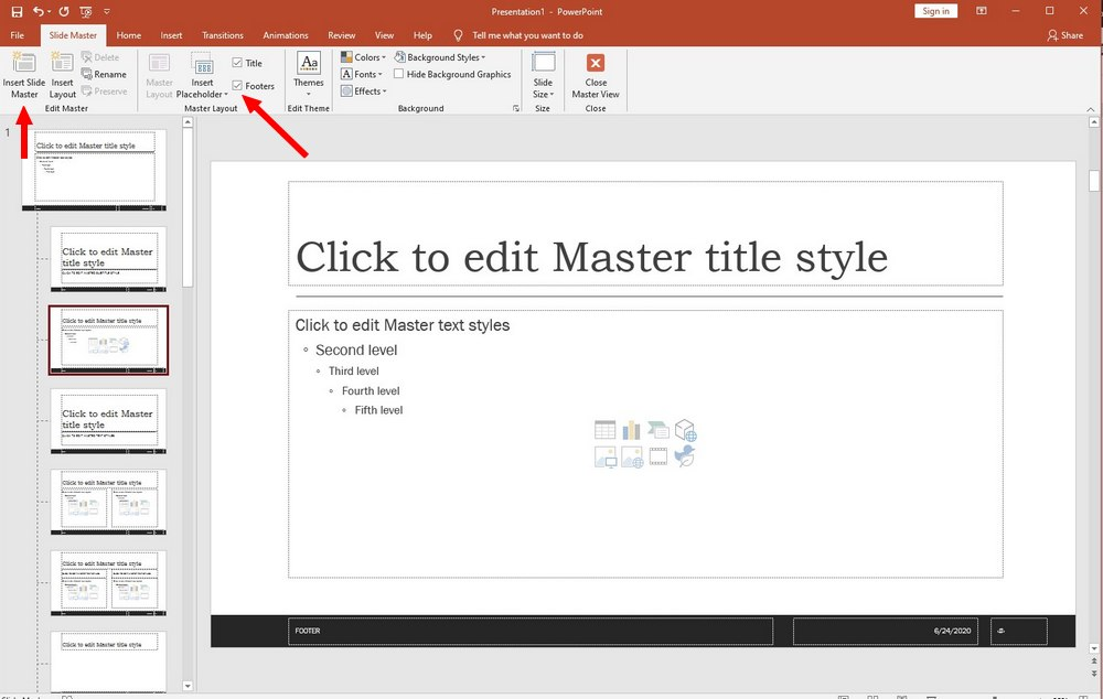powerpoint guide - save templates 1