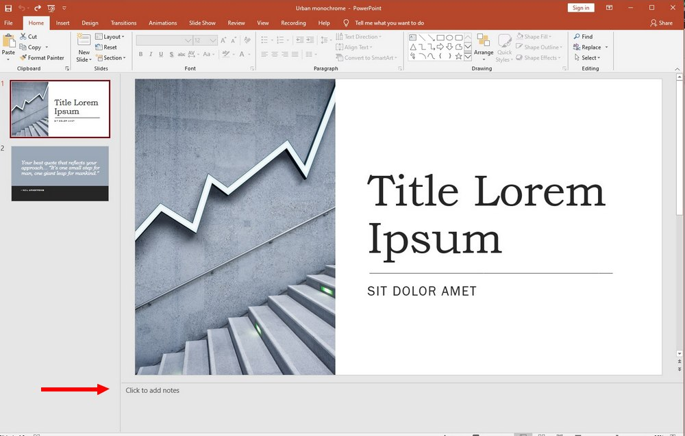powerpoint guide - speaker notes 1