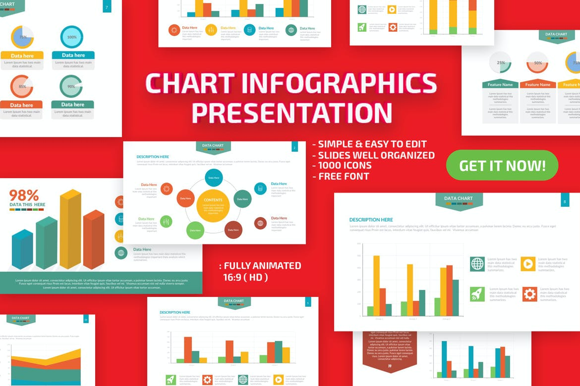 25 Powerpoint Ppt Infographic Templates For Graphic Presentations Theme Junkie