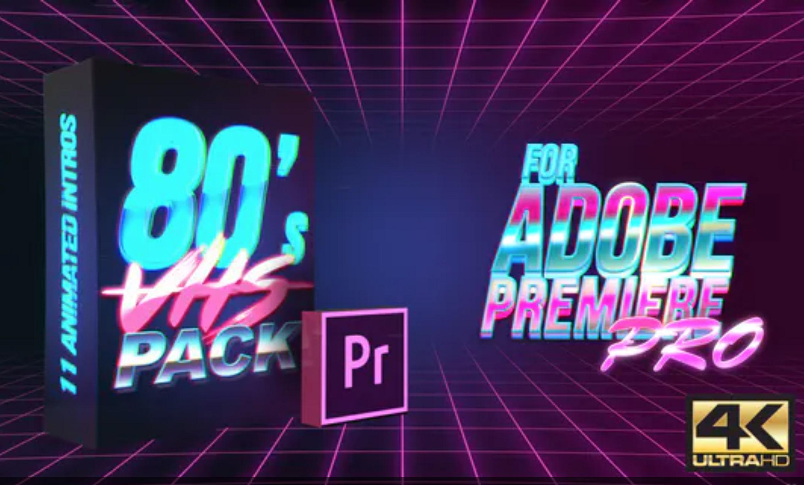 premiere pro glitch effect