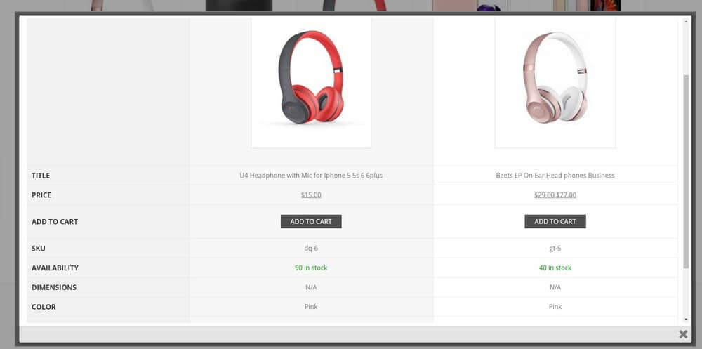 price-comparison-website-product-features
