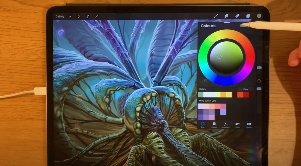 procreate 5 artist guide