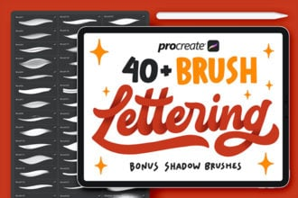 20+ Best Procreate Calligraphy & Lettering Brushes