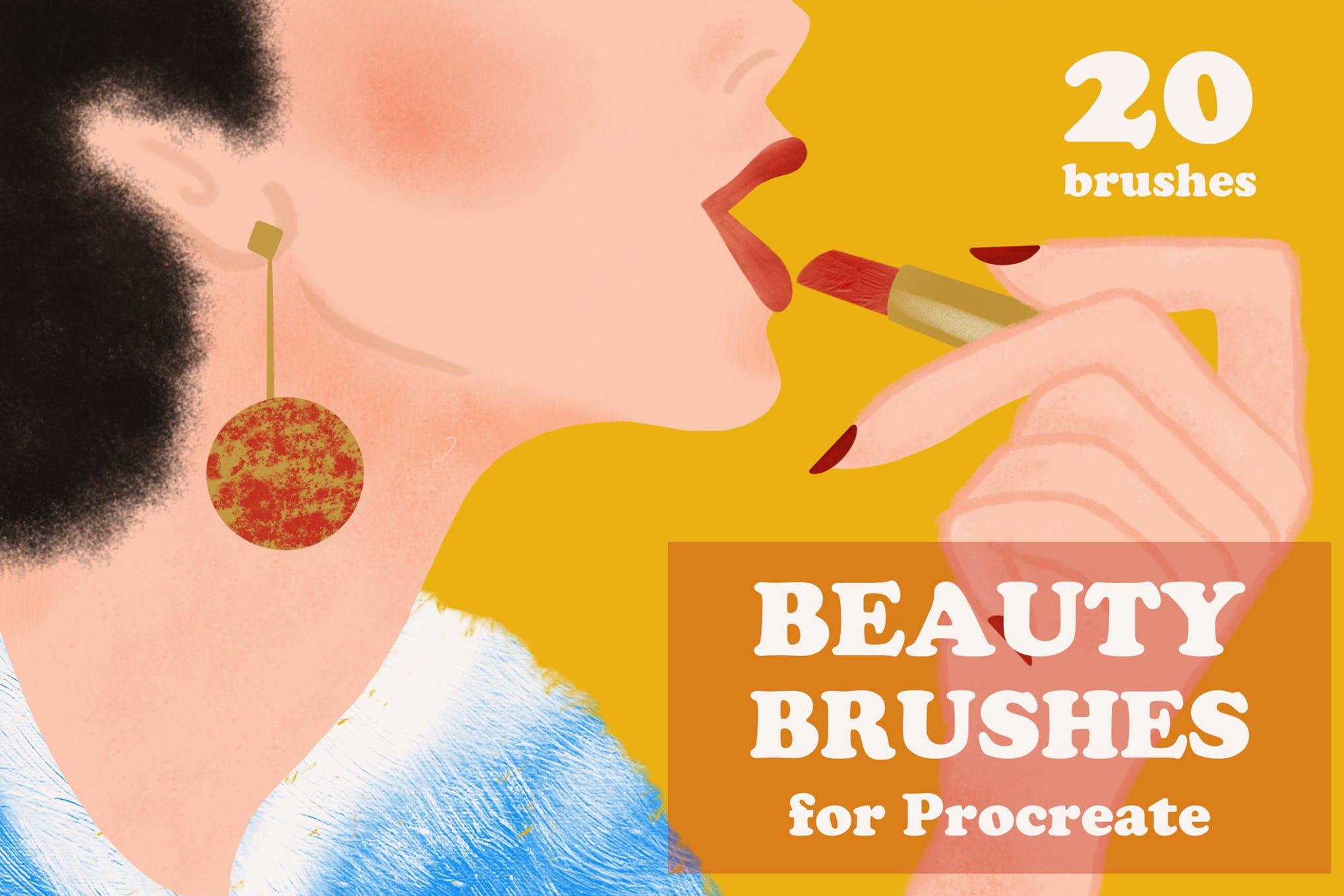 procreate texture brushes-