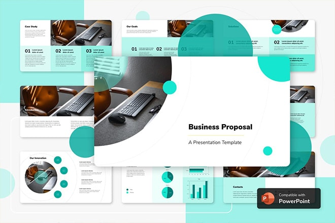 25+ Best Professional Business PowerPoint Templates
