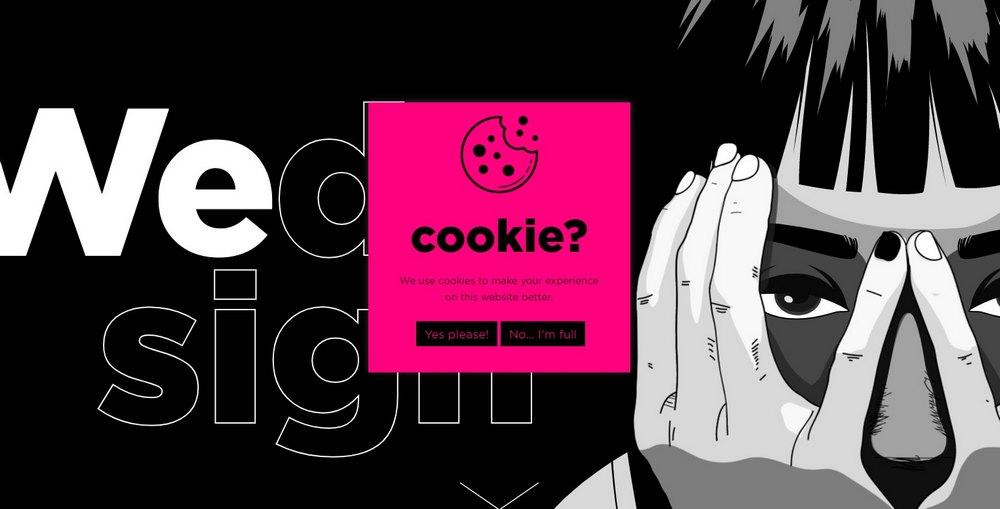 proweb - pesan cookie
