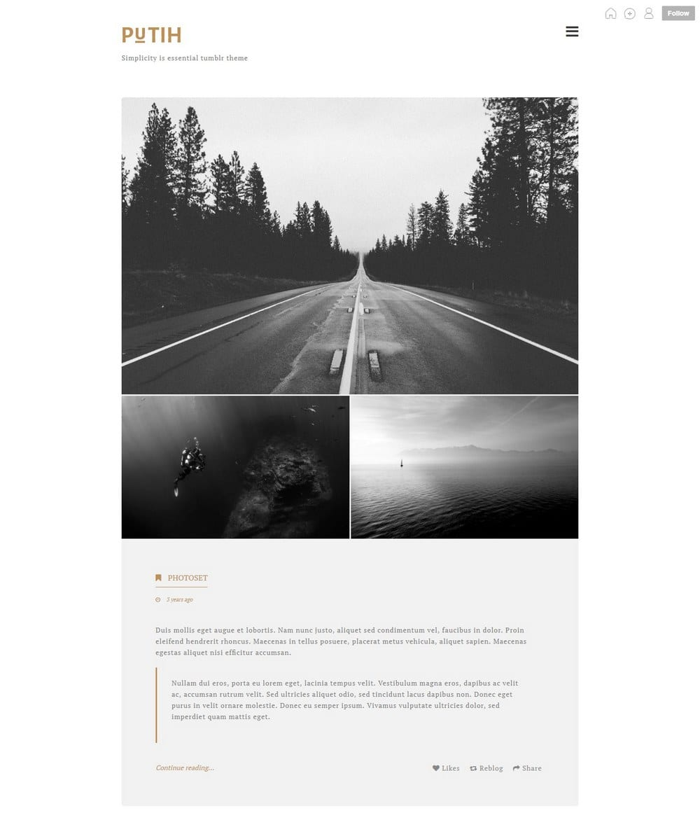 putih-one-column-tumblr-theme