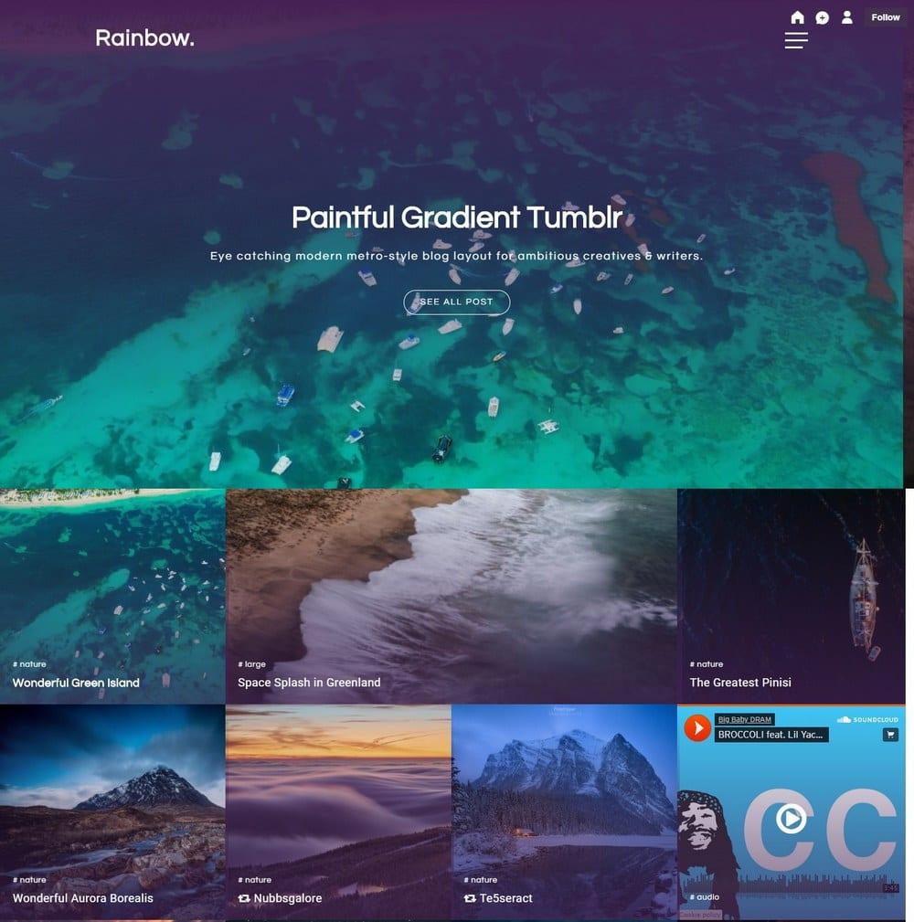 rainbow-grid-tumblr-theme