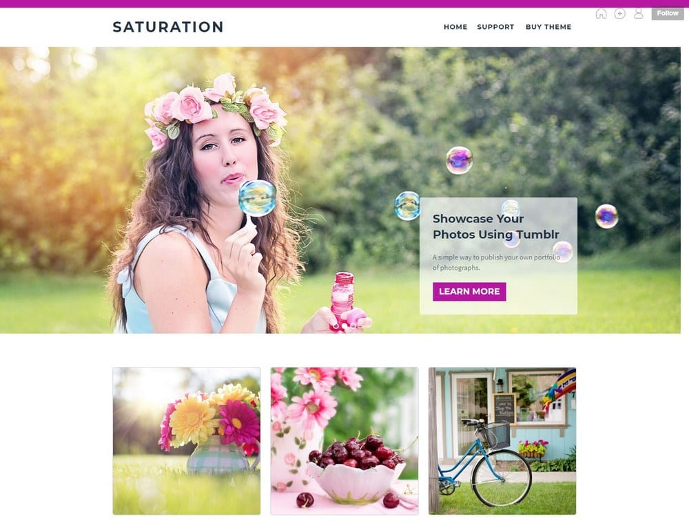 saturation-tumblr-theme