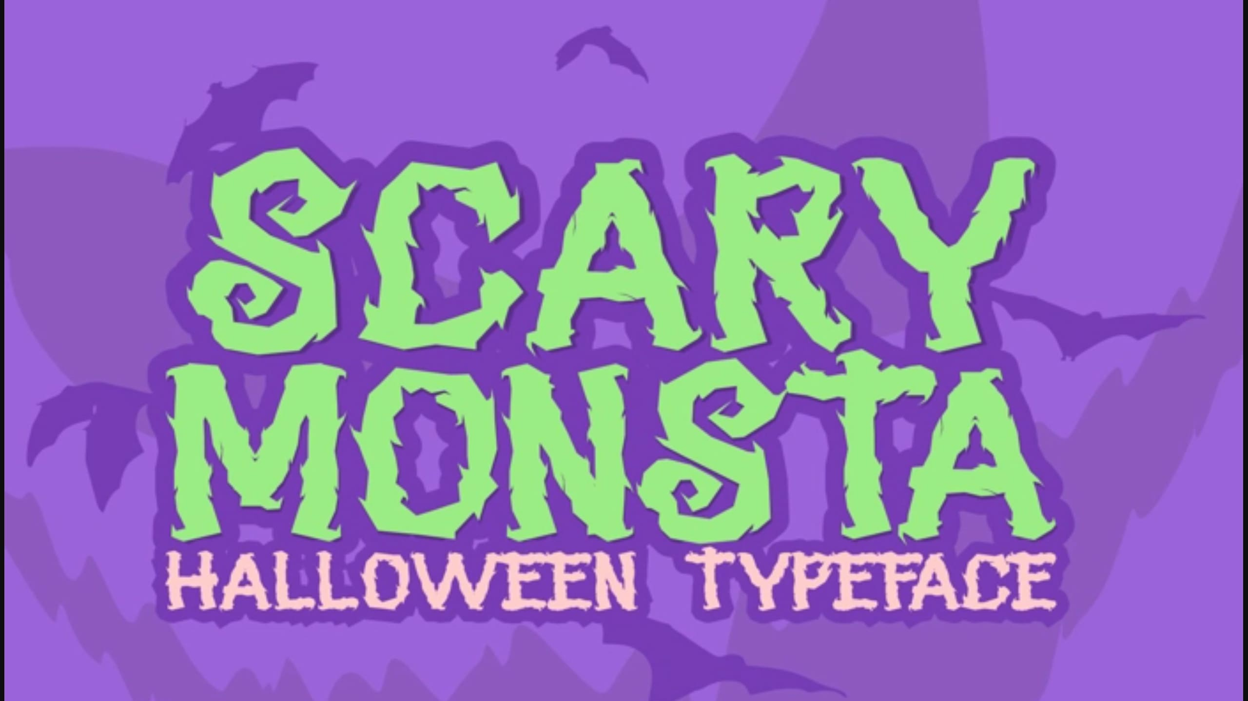 20 Font Menakutkan, Menyeramkan & Seram Untuk Halloween & Lainnya ...