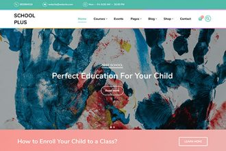 SchoolPlus: Our New Theme for Schools and Kindergartens
