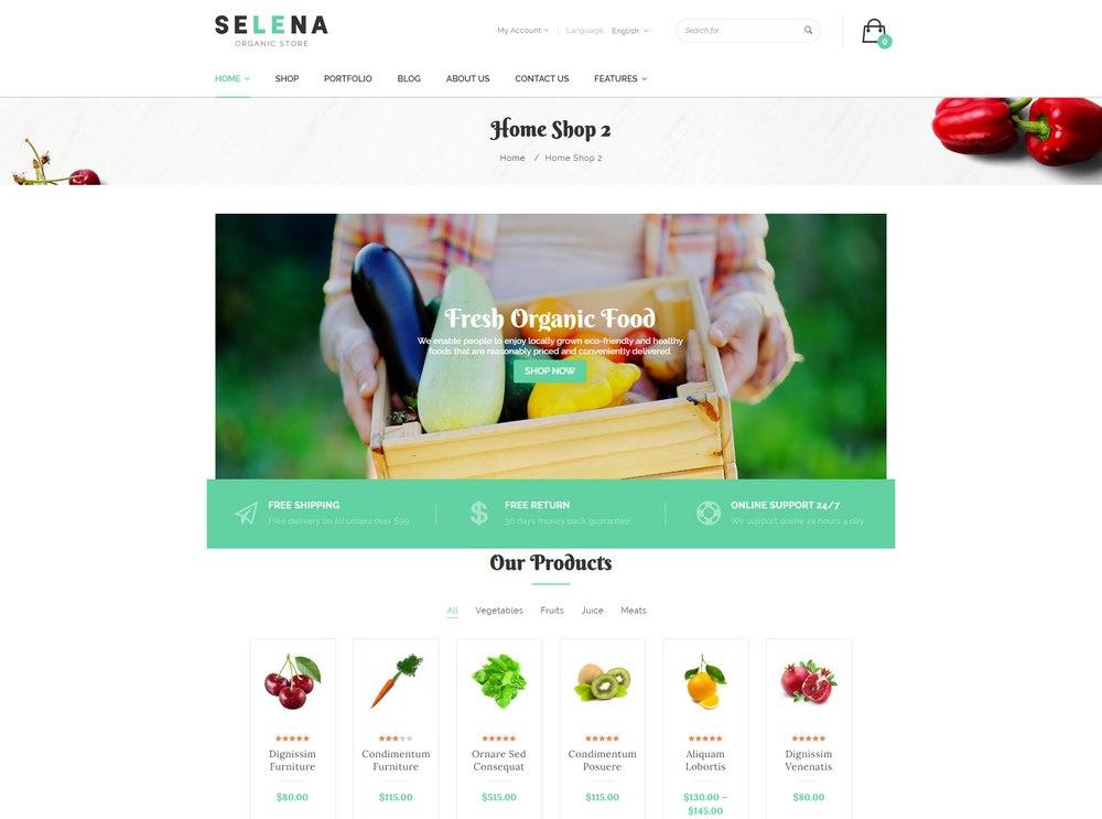 selena-woocommerce-theme