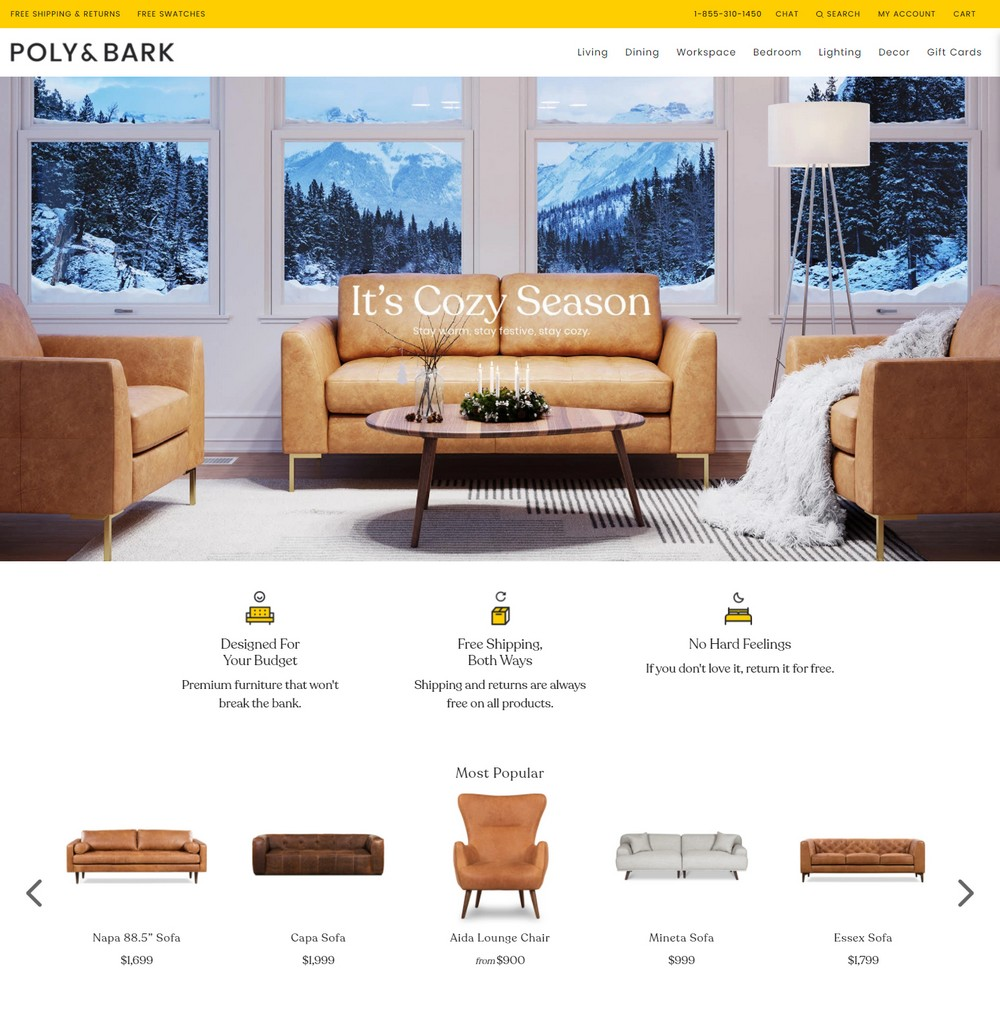 shopify shop example