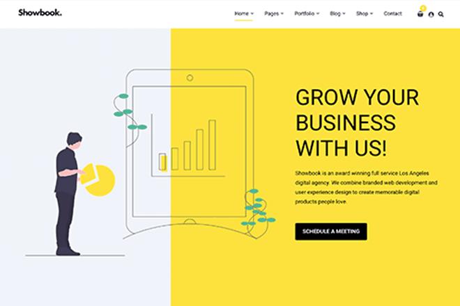 Showbook: Our New Portfolio WordPress Theme