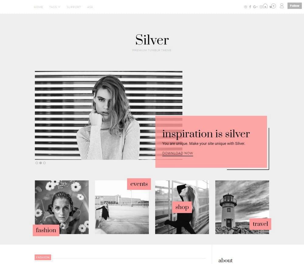 silver-cute-tumblr-theme