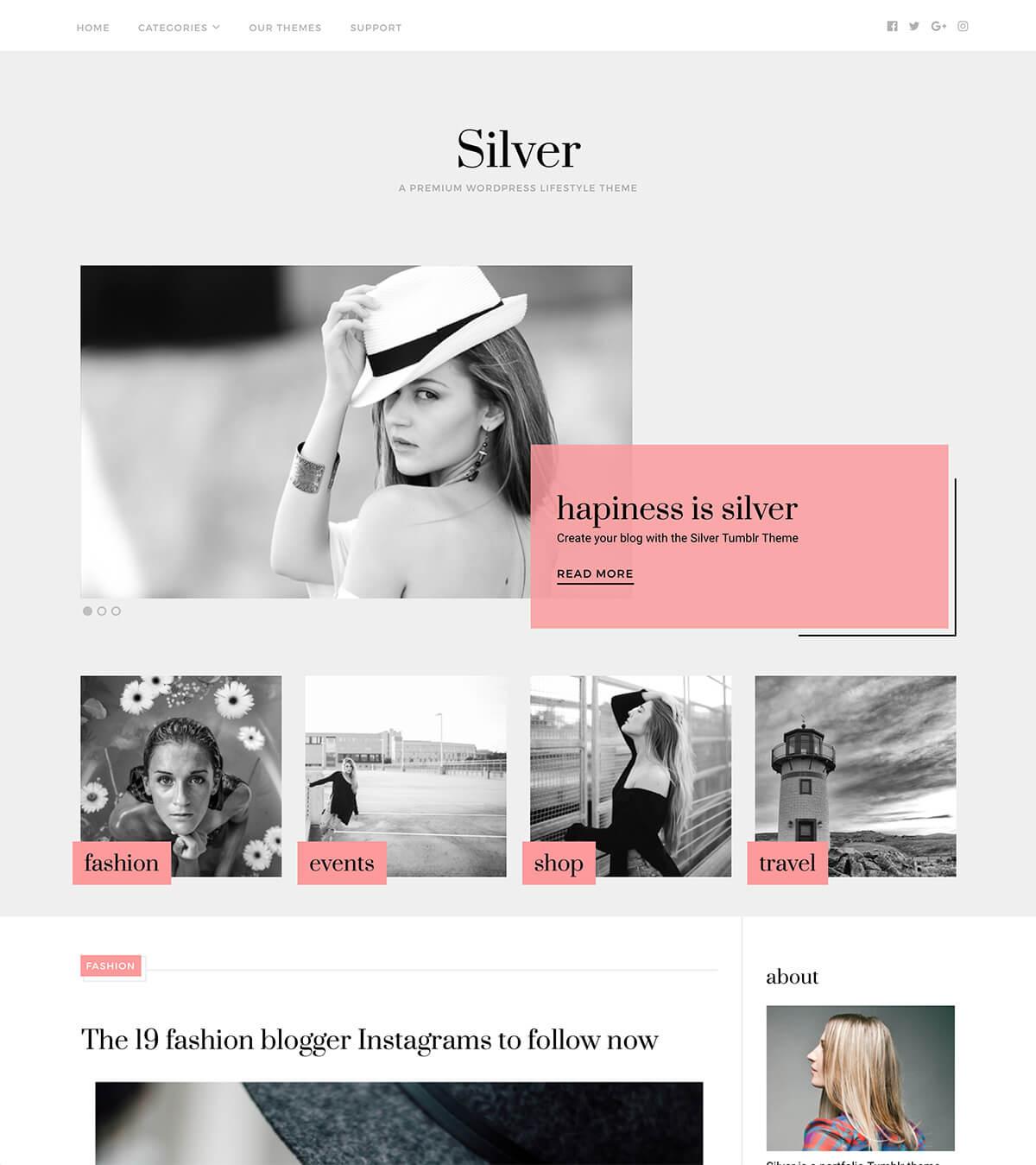 silver-theme