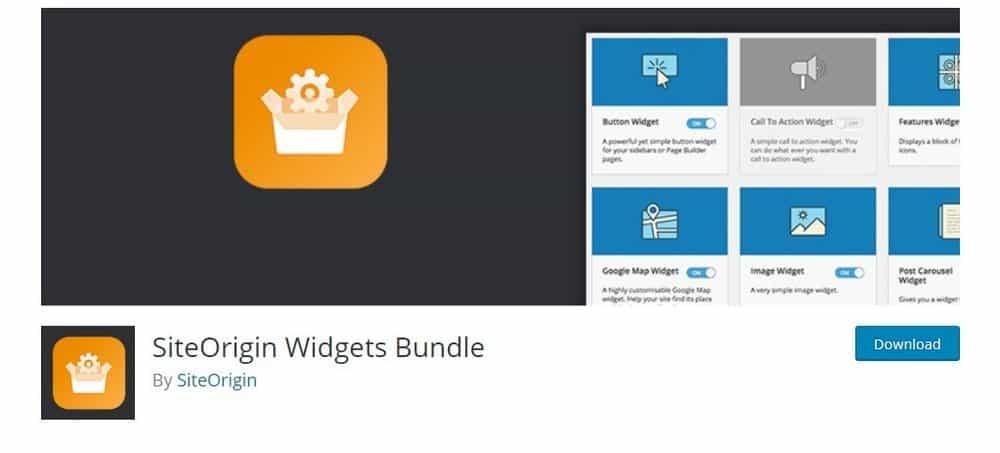 bundel widget siteorigin