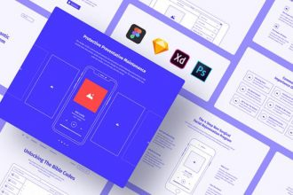 20+ Best Sketch Wireframe Templates 2020