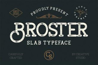 20 Best Slab Serif Fonts (Popular Bold, Classic Slab Fonts) 2021