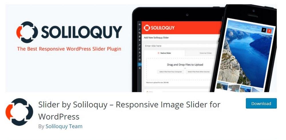 slider dengan soliloque