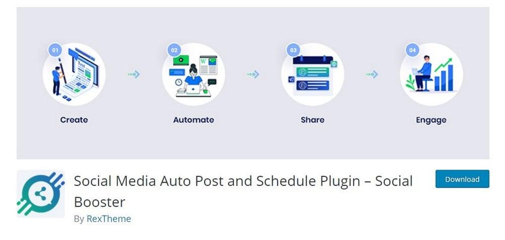 social booster wordpress plugin