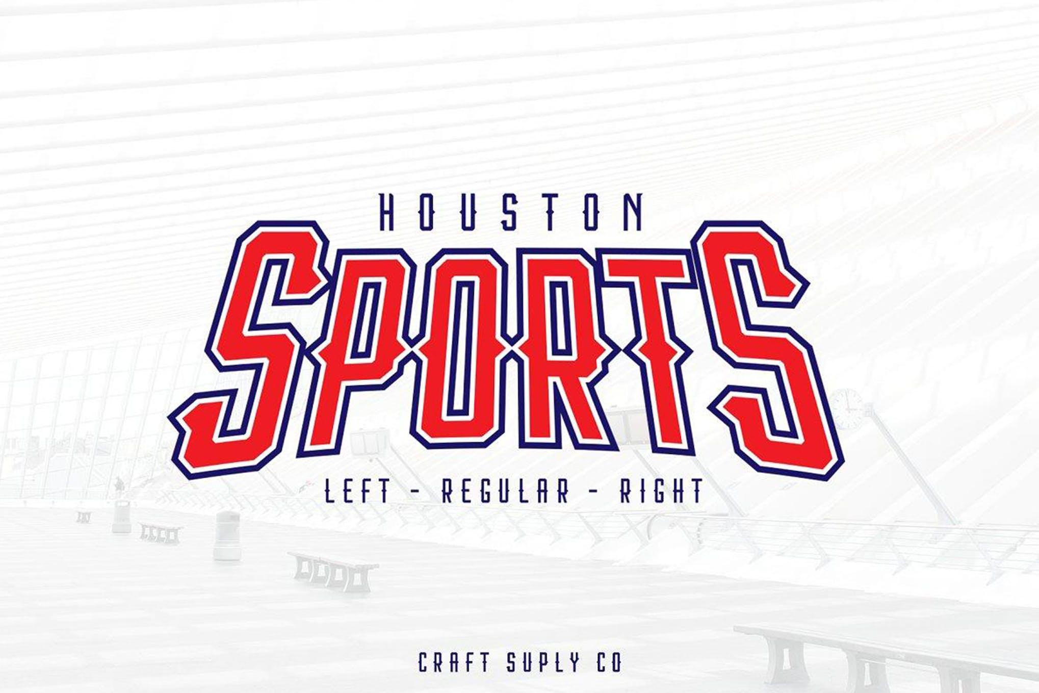 font olahraga