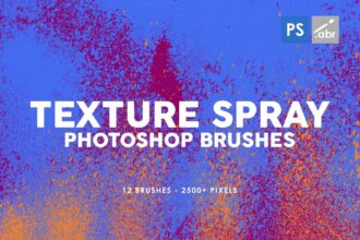 20+ Best Photoshop Spray Paint Brushes, Effects & Textures 2021