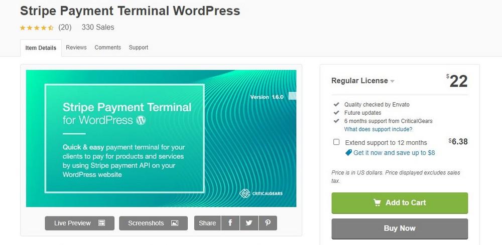 terminal pembayaran stripe