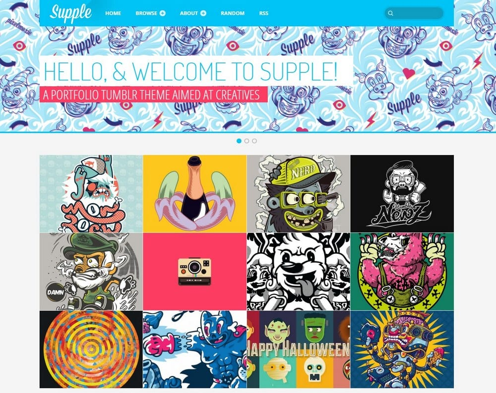 supple-tumblr-portfolio-theme