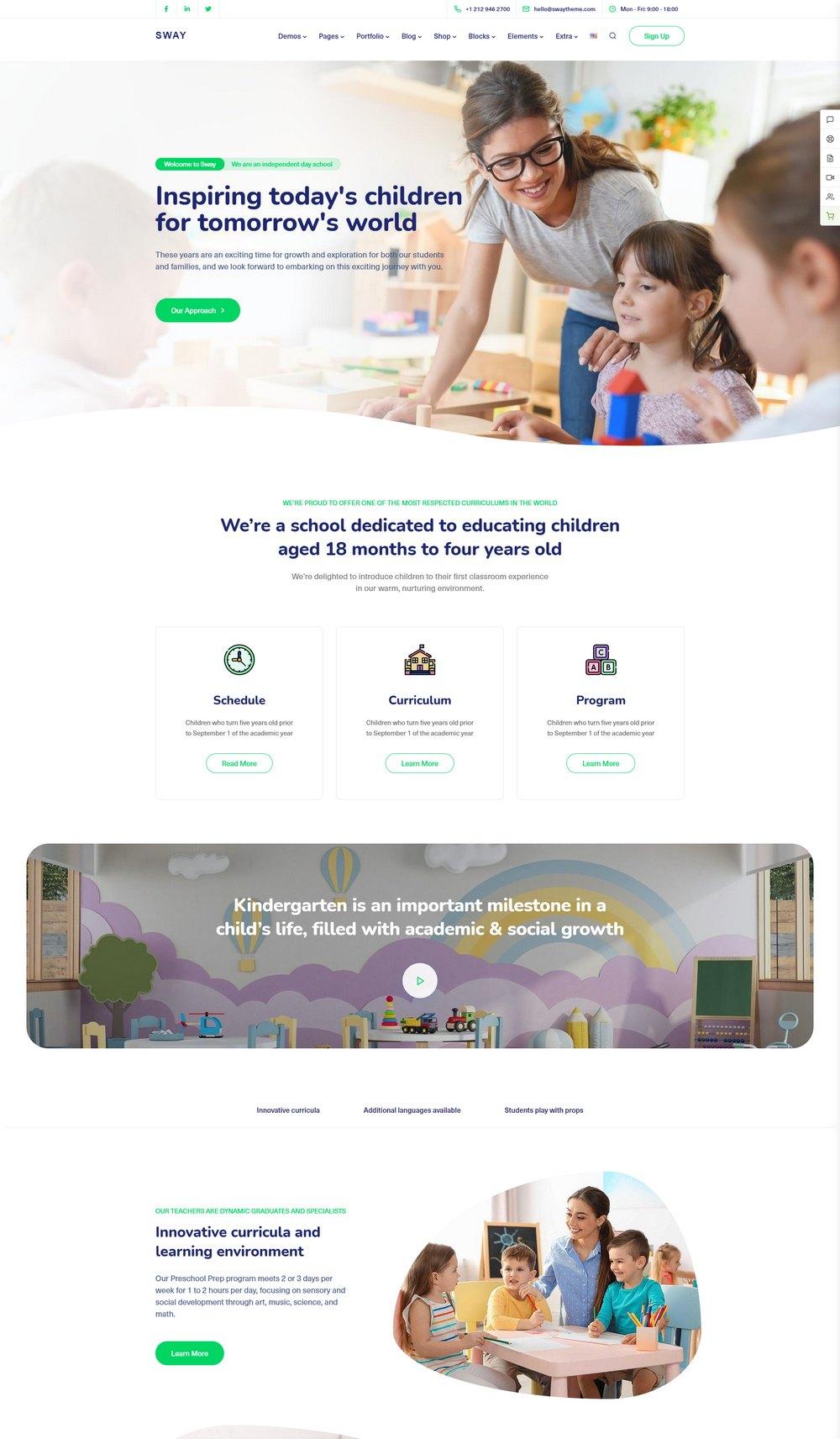 swaytheme-kindergarten-wp-theme