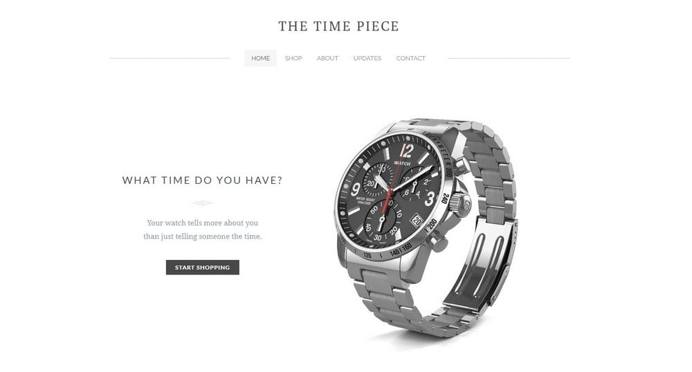 the time piece-weebly-theme